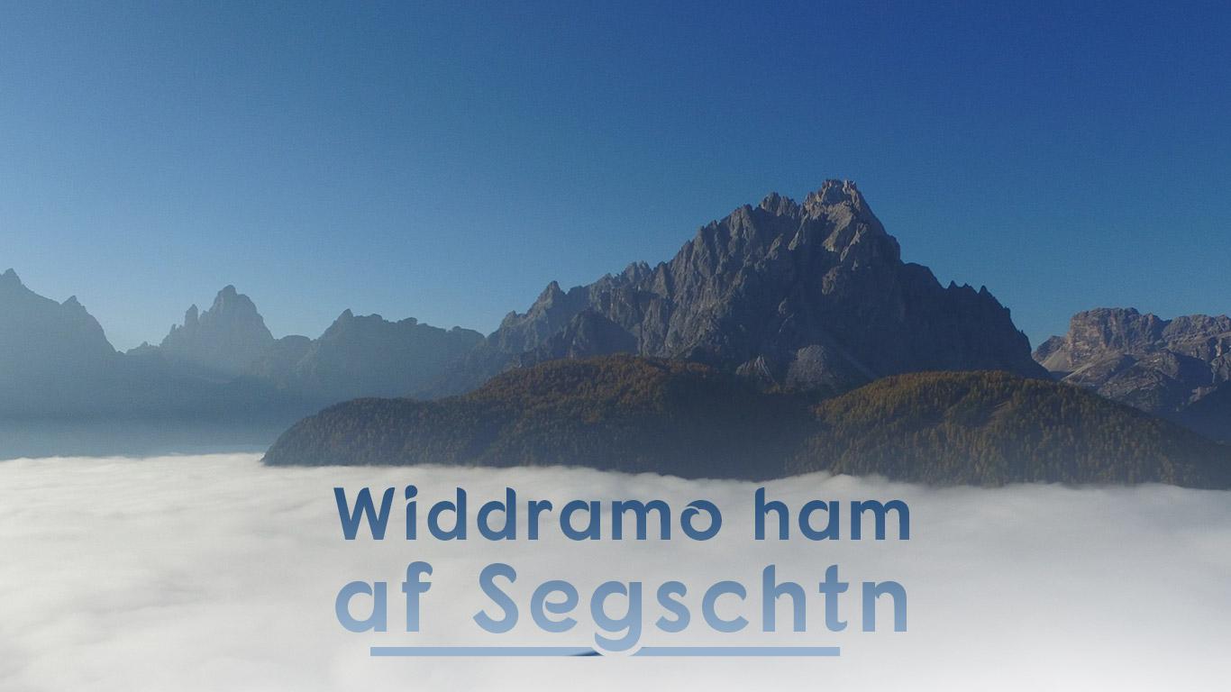 "Pfingsten 2019 | ""Widdramo ham af Segschtn"""